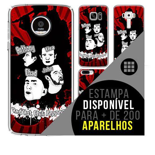 Capa de celular - RED HOT CHILLI PEPPERS 2 [disponível para + de 200 aparelhos]