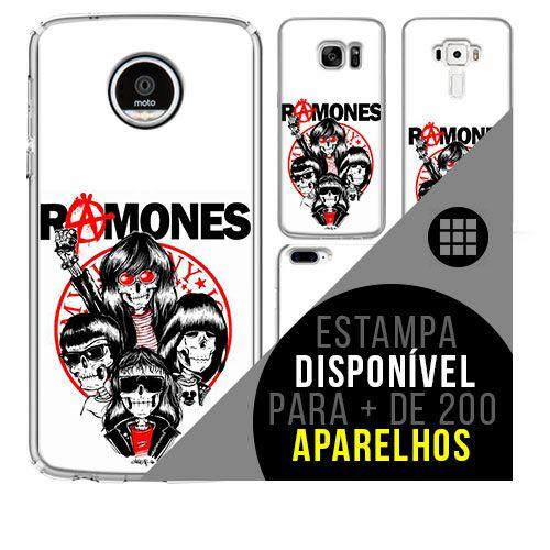 Capa de celular - RAMONES 2 [disponível para + de 200 aparelhos]