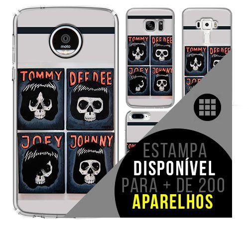 Capa de celular - RAMONES [disponível para + de 200 aparelhos]
