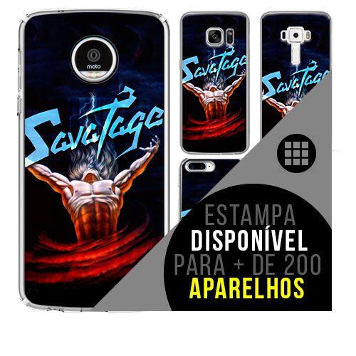 Capa de celular - SAVATAGE [disponível para + de 200 aparelhos]