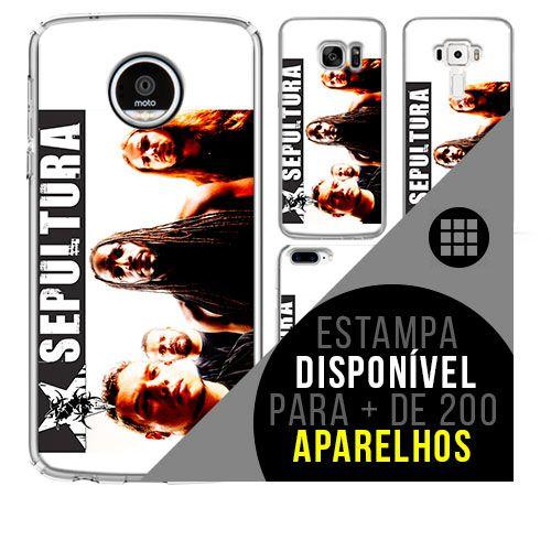 Capa de celular - SEPULTURA [disponível para + de 200 aparelhos]