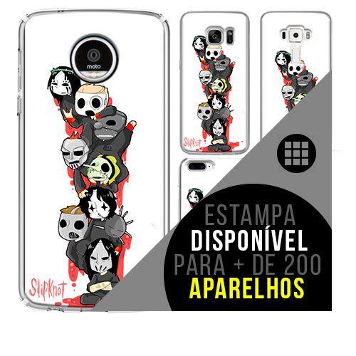 Capa de celular - SLIPKNOT 5 [disponível para + de 200 aparelhos]