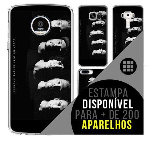Capa de celular - SLEEPING WITH SIRENS [disponível para + de 200 aparelhos]