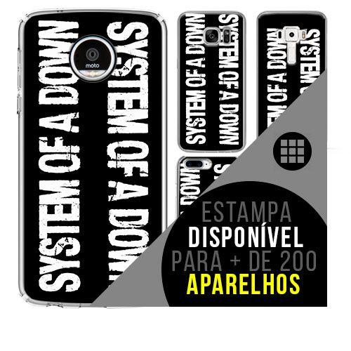 Capa de celular - SYSTEM OF A DOWN 5 [disponível para + de 200 aparelhos]