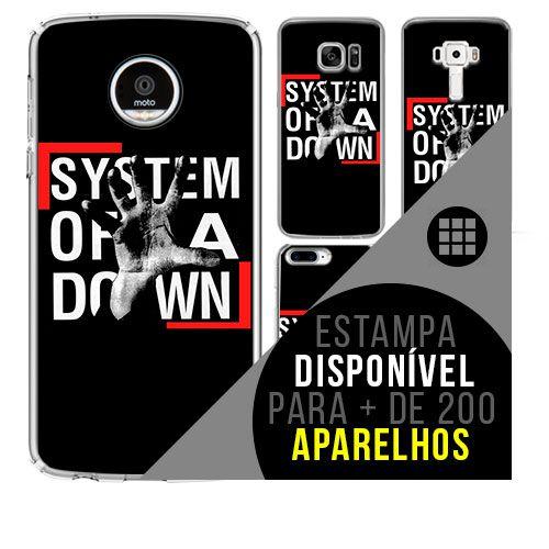 Capa de celular - SYSTEM OF A DOWN 6 [disponível para + de 200 aparelhos]