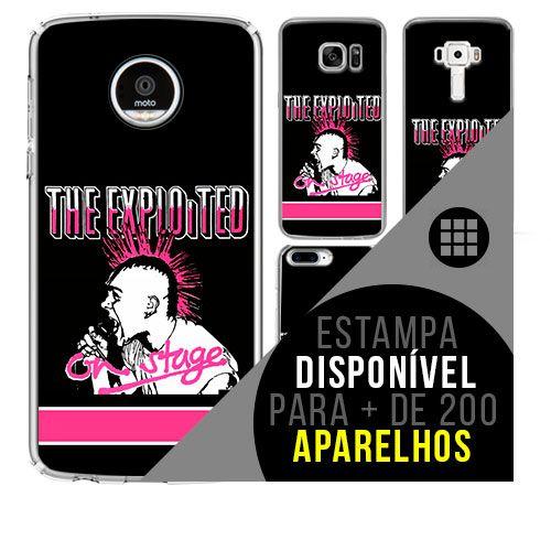 Capa de celular - THE EXPLOITED [disponível para + de 200 aparelhos]