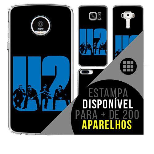 Capa de celular - U2 - 5  [disponível para + de 200 aparelhos]