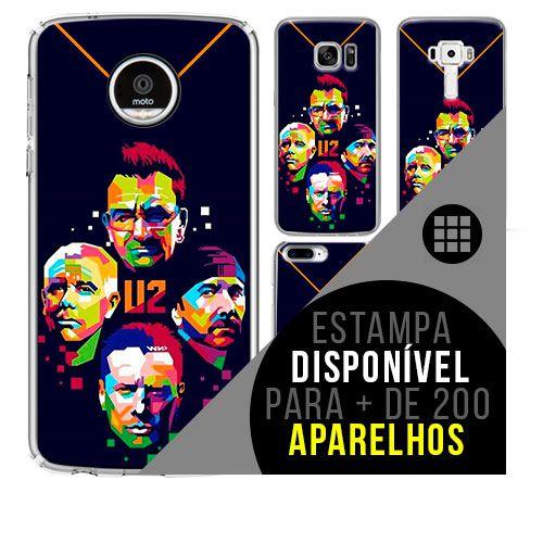 Capa de celular - U2 - 4  [disponível para + de 200 aparelhos]