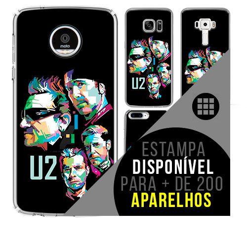 Capa de celular - U2 - 7 [disponível para + de 200 aparelhos]