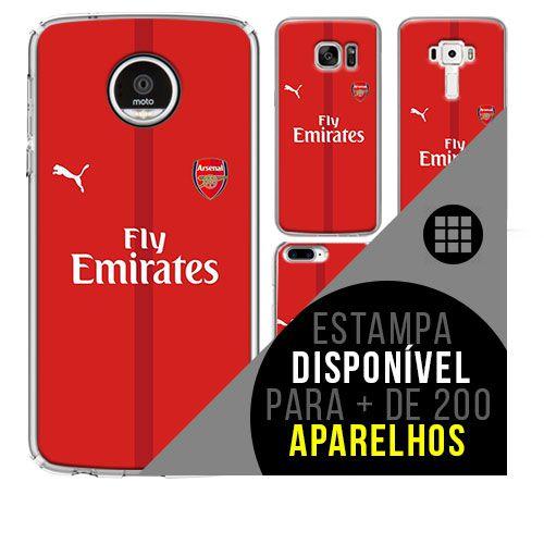 Capa de celular - Arsenal [disponível para + de 200 aparelhos]