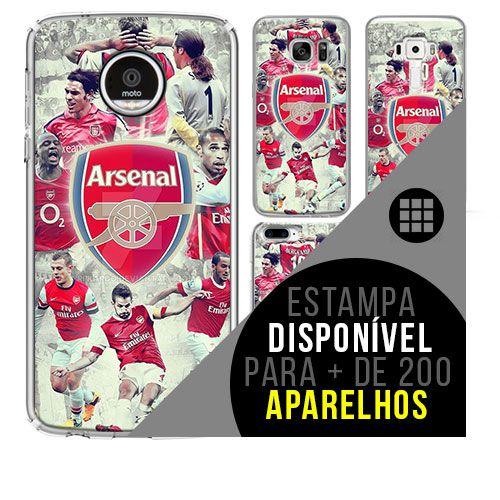 Capa de celular - Arsenal 3 [disponível para + de 200 aparelhos]