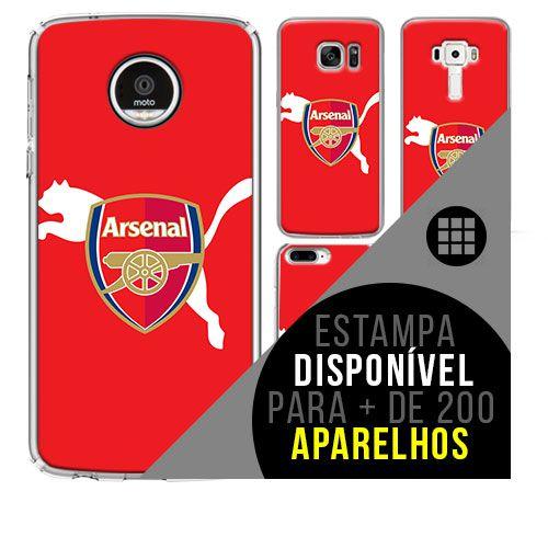 Capa de celular - Arsenal 4 [disponível para + de 200 aparelhos]