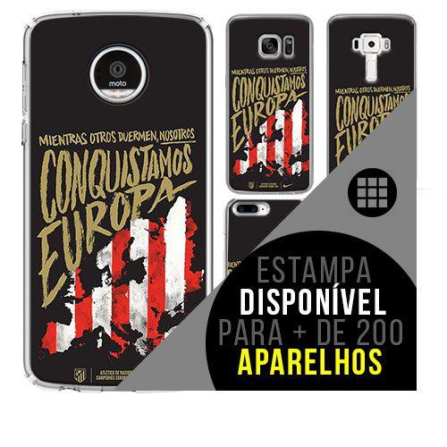 Capa de celular - Atlético de Madrid 2 [disponível para + de 200 aparelhos]