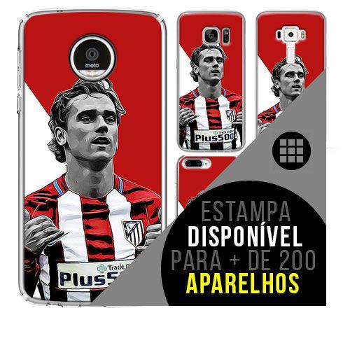 Capa de celular - Atlético de Madrid 5 [disponível para + de 200 aparelhos]