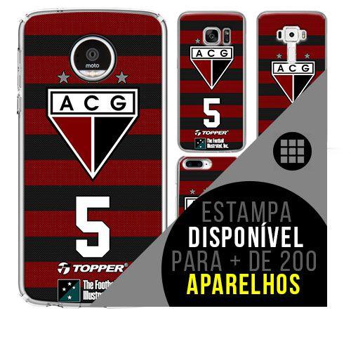 Capa de celular - Atlético-GO [disponível para + de 200 aparelhos]
