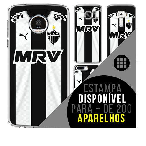 Capa de celular - Atlético-MG 4 [disponível para + de 200 aparelhos]