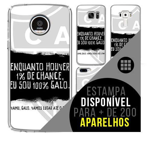 Capa de celular - Atlético-MG 6 [disponível para + de 200 aparelhos]
