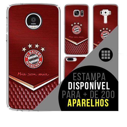 Capa de celular - Bayern de Munique 3 [disponível para + de 200 aparelhos]