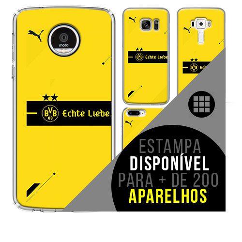Capa de celular - Borussia Dortmund [disponível para + de 200 aparelhos]