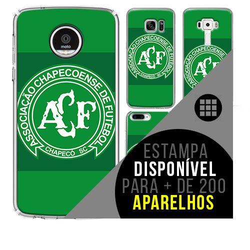 Capa de celular - Chapecoense [disponível para + de 200 aparelhos]