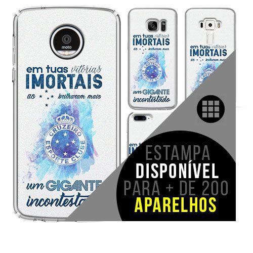 Capa de celular - Cruzeiro [disponível para + de 200 aparelhos]
