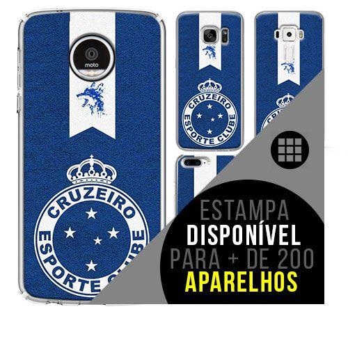 Capa de celular - Cruzeiro 3 [disponível para + de 200 aparelhos]