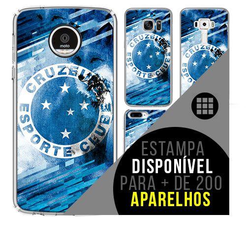 Capa de celular - Cruzeiro 5 [disponível para + de 200 aparelhos]