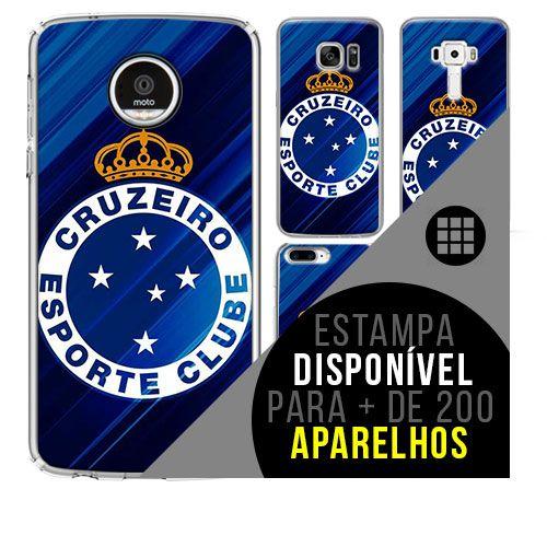 Capa de celular - Cruzeiro 12 [disponível para + de 200 aparelhos]