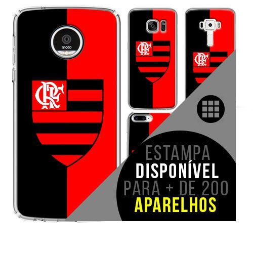 Capa de celular - Flamengo 7 [disponível para + de 200 aparelhos]