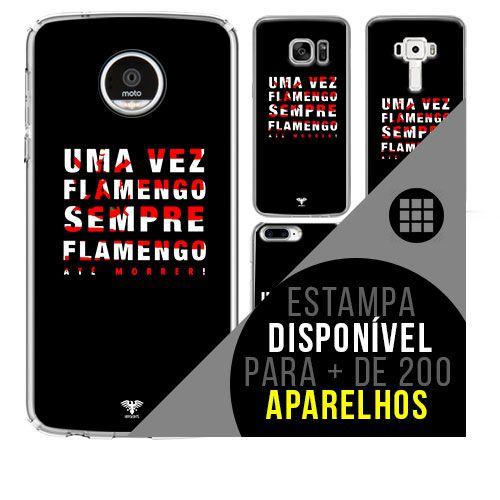 Capa de celular - Flamengo 8 [disponível para + de 200 aparelhos]