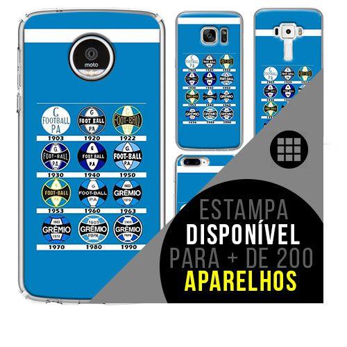 Capa de celular - Grêmio [disponível para + de 200 aparelhos]