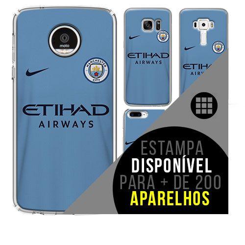 Capa de celular - Manchester City 2 [disponível para + de 200 aparelhos]