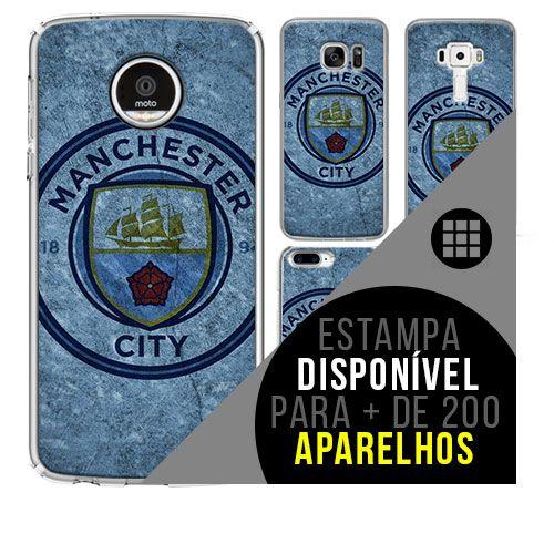 Capa de celular - Manchester City 6 [disponível para + de 200 aparelhos]