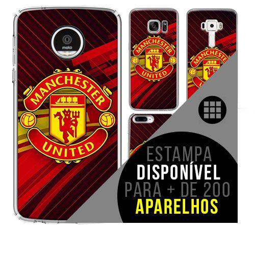 Capa de celular - Manchester United 4 [disponível para + de 200 aparelhos]
