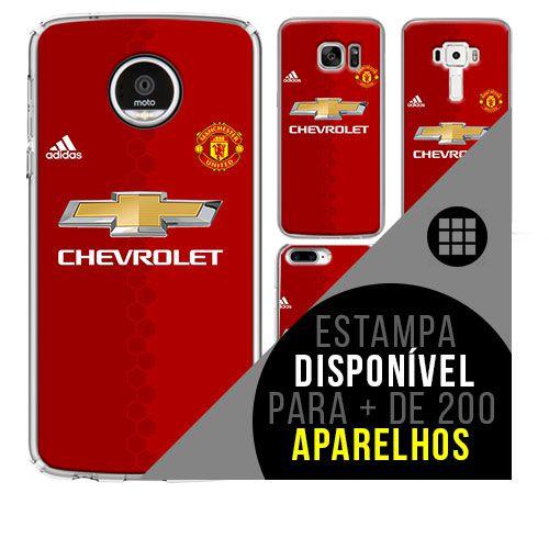 Capa de celular - Manchester United 6 [disponível para + de 200 aparelhos]