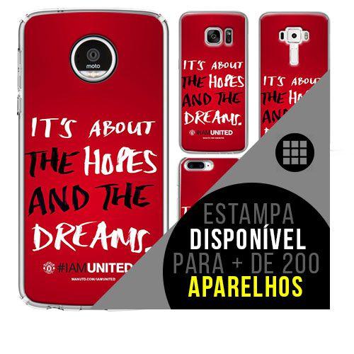 Capa de celular - Manchester United 7 [disponível para + de 200 aparelhos]