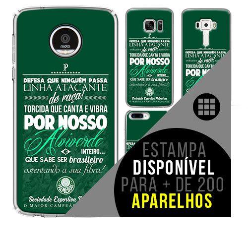 Capa de celular - Palmeiras [disponível para + de 200 aparelhos]