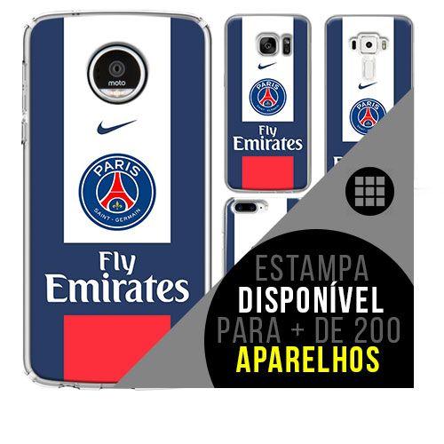Capa de celular - Paris Saint-Germain 6 [disponível para + de 200 aparelhos]