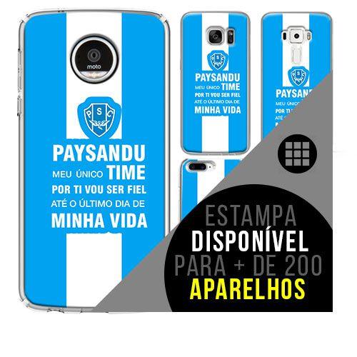 Capa de celular - Paysandu 3 [disponível para + de 200 aparelhos]