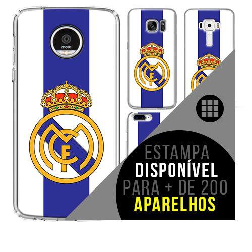 Capa de celular - Real Madrid 3 [disponível para + de 200 aparelhos]