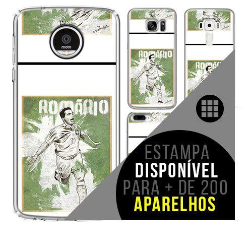 Capa de celular - Romário [disponível para + de 200 aparelhos]