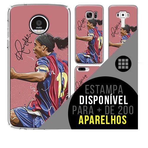 Capa de celular - Ronaldinho Gáucho 1 [disponível para + de 200 aparelhos]