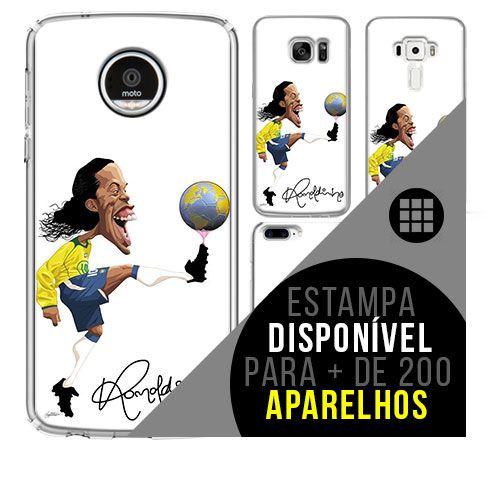 Capa de celular - Ronaldinho Gáucho 4 [disponível para + de 200 aparelhos]