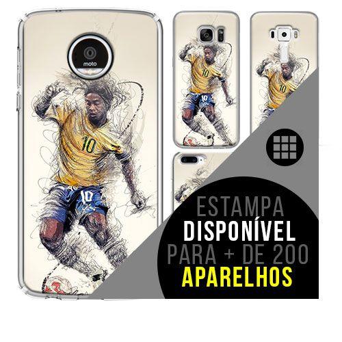 Capa de celular - Ronaldinho Gáucho 6 [disponível para + de 200 aparelhos]