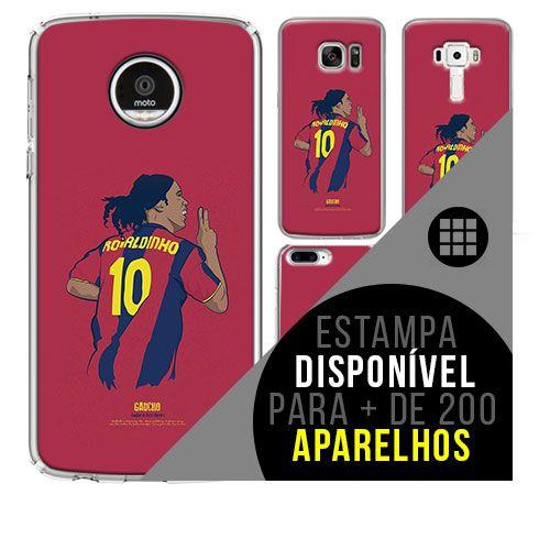Capa de celular - Ronaldinho Gáucho 7 [disponível para + de 200 aparelhos]