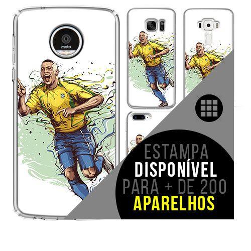 Capa de celular - Ronaldo [disponível para + de 200 aparelhos]
