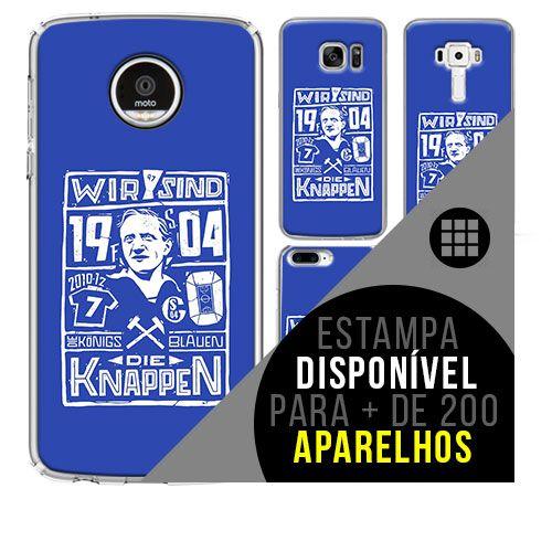 Capa de celular - Schalke 04 - 3 [disponível para + de 200 aparelhos]