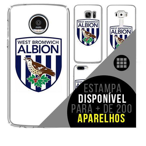 Capa de celular - West Bromwich Albion [disponível para + de 200 aparelhos]