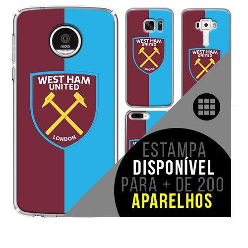 Capa de celular - West Ham United 2 [disponível para + de 200 aparelhos]