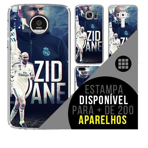 Capa de celular - Zidane [disponível para + de 200 aparelhos]